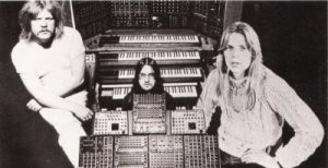 Tangerine Dream and synthesizers, circa 1970's
