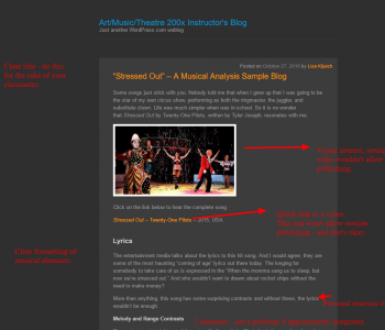 image and link of an annotated blog post example